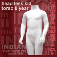 Head Less Kid Torso 8 Year