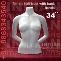 Female Half Bust with Dack Hand