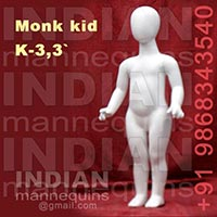 Monk Head Kids Mannequins