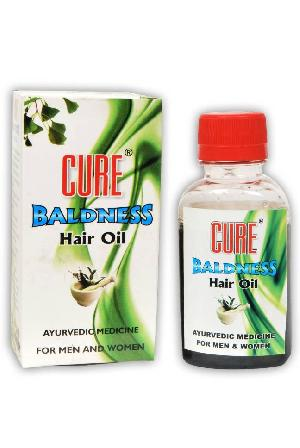 Cure Baldness Hair Oil 02