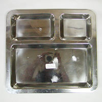 Stainless Steel 3d Tray