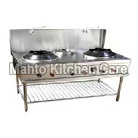 Three Burner Chinese Gas Stove