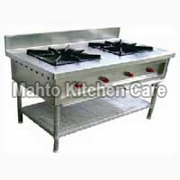 Two Burner Chinese Gas Stove