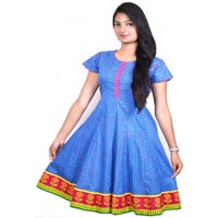 Jaipuri Anarkali Cotton Kurtis