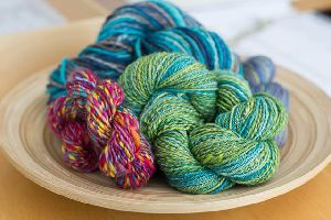 Dyed Handspun Yarns
