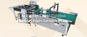 Semi Automatic Gluing Machine With Conveyor