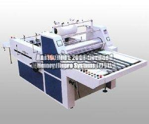 Semi Automatic Thermal Lamination Machine (With in-line Divisional Cutting Device)