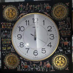 Tribal Art Clocks