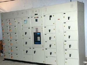 Electrical panel boards.