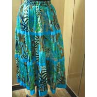 Cotton Voile Long Skirt