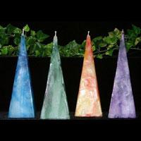 Pyramid Candles