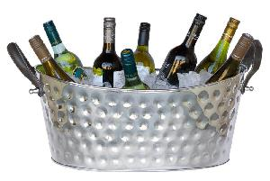 Aluminium Wine Bottle Tub
