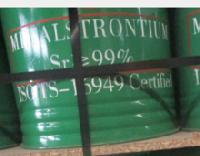 Sr 99% Strontium Metal