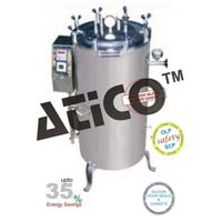 Vertical Double Wall Autoclave