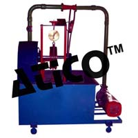 Closed Circuit Pelton Wheel Turbine Test Rig 5 HP