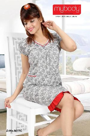 Short Length Nighty 02