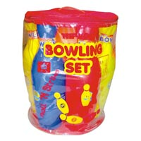 Bowling Set Senior 6 Pin Packing
