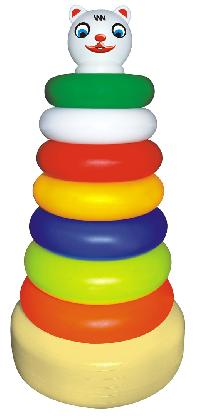 Pyramid Ring Set Toys - BABY STACKER BIG