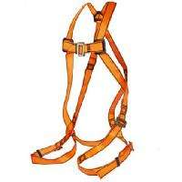 Shock Absorbing Double Lanyard with Scaffolding Hook