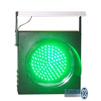 Solar Traffic Signal Light 02