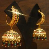 Gold Plated Jhumka