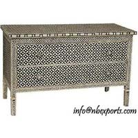 Bone Inlay Chest Drawer (NB-CHD-103)