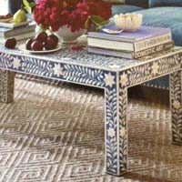 Bone Inlay Coffee Table (NB-CFTL-101)