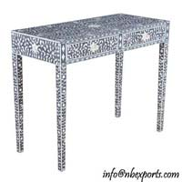 Bone Inlay Console Table (NB-CNTL-103)