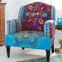 Patch Work Sofa Chair (NB-LSTL-007)