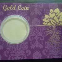 Gold Coin Card 07
