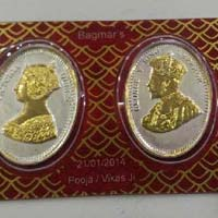 Gold Coin Card 13