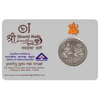 Silver Coin Card 01