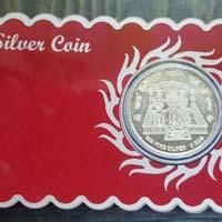 Silver Coin Card 02