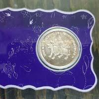 Silver Coin Card 05