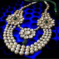 Polki & Pearl Necklace