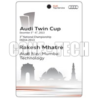 Audi Twin Cup Badges
