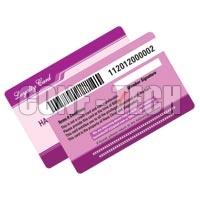 Barcode Card Sample