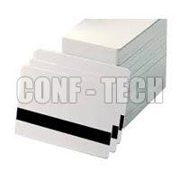 White Mangetic Card