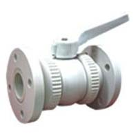 Polypropylene Union Type Ball Valve (Flanged End)