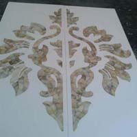 Mother of Pearl Inlay On Corian & Veneer 10