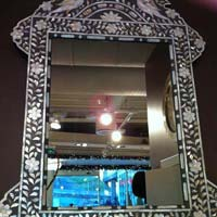 Mother of Pearl Mirror 10
