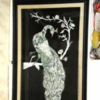 Mother of Pearl Wall Painting 02