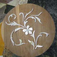 Mother of Pearl Wooden Inlay 02