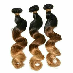 Wavy Machine Weft Hair