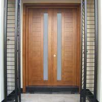Teak Double Door 01