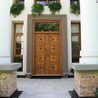 Teak Double Door 02