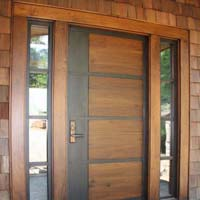 Teak Wood Single Door 01