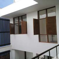 Teak Wooden Small Windows