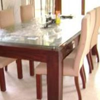 Wooden Dining Table 01