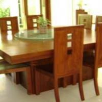 Wooden Dining Table 02